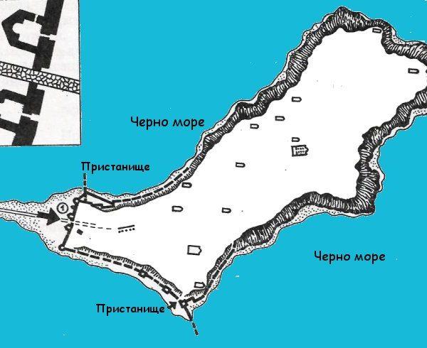 bulgarian castles mesembria plan