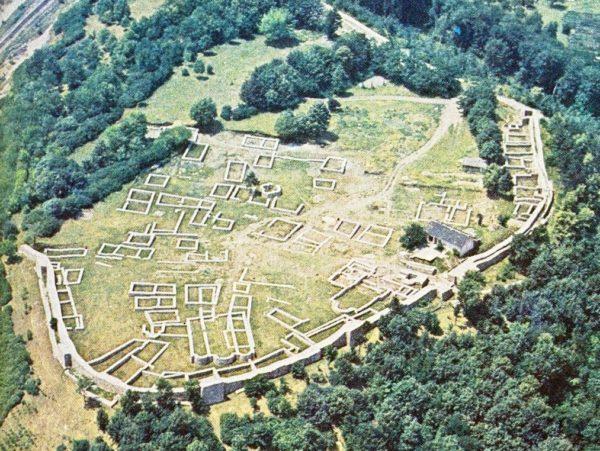 bulgarian castles pernishka airview 1