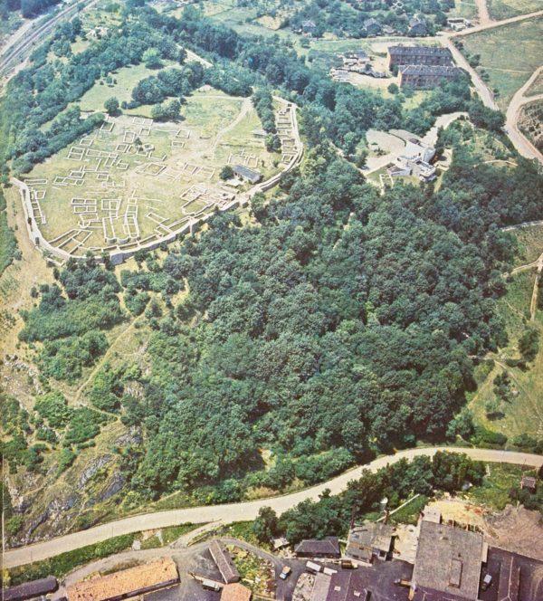 bulgarian castles pernishka airview 2