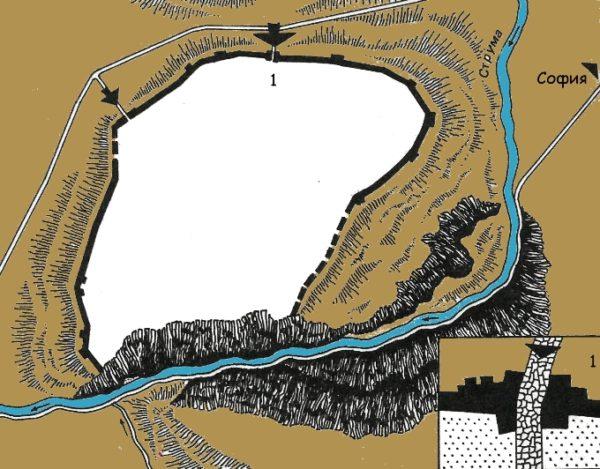 bulgarian castles pernishka plan 2