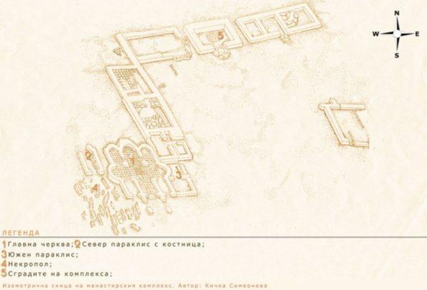 bulgarian castles perperikon plan 2
