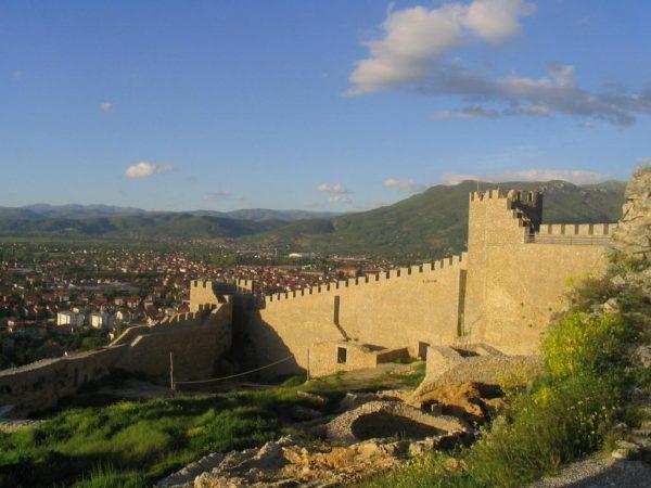 bulgarian castles samuil ohrid 1