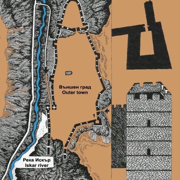 bulgarian castles urvich plan