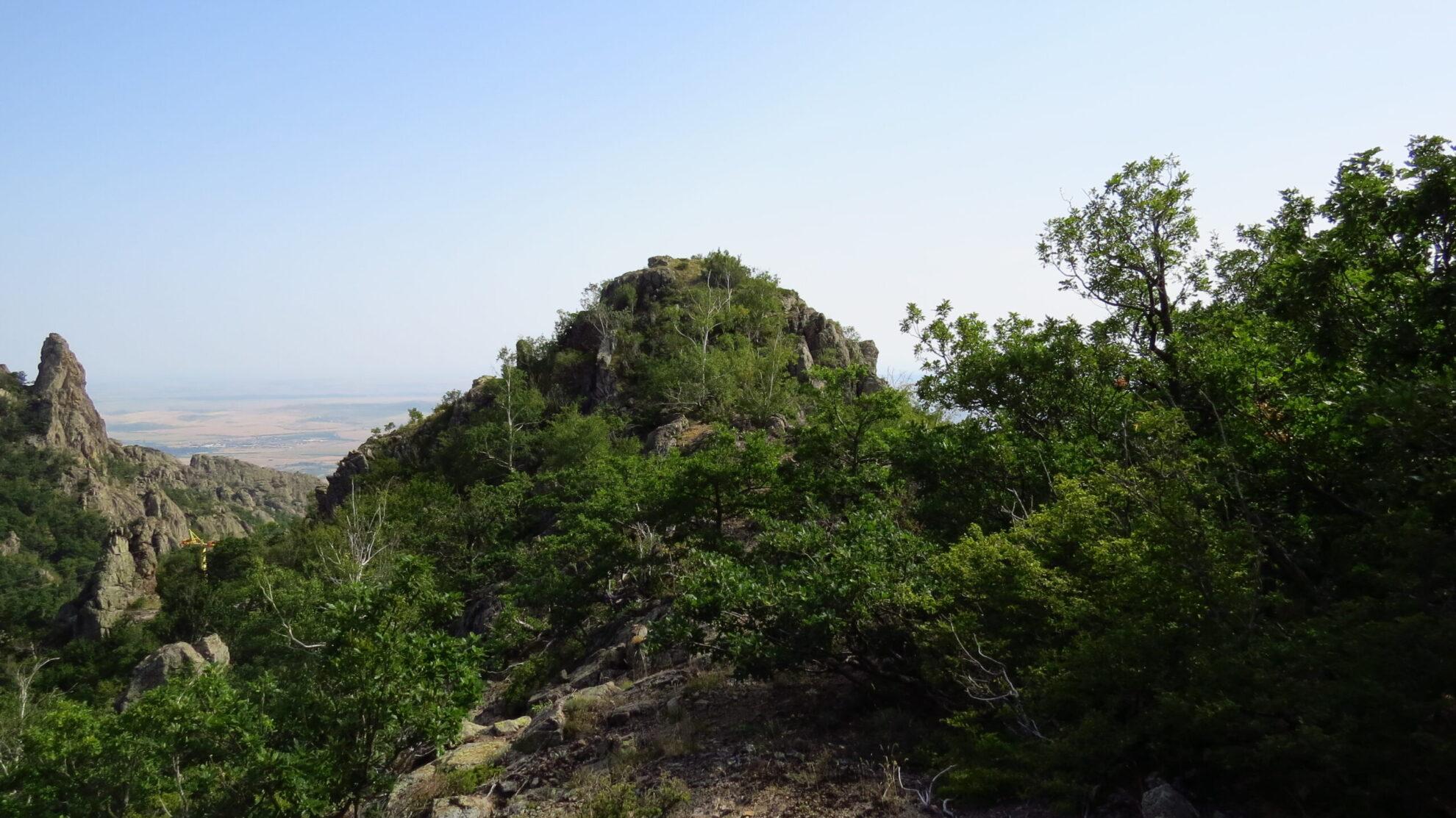 Гр. Сливен - крепост Маричино градище